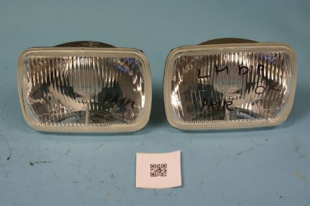 1984-1996 Corvette C4 RH LH IKI 1058 Headlights Dip Pair, Used Good